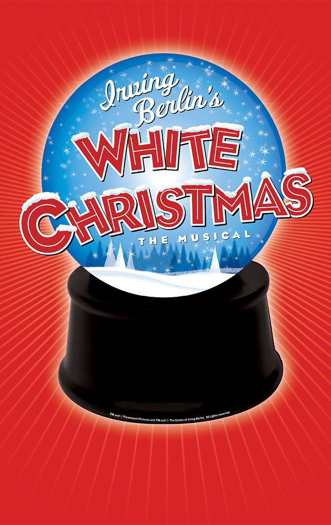 Irving Berlin's White Christmas the Musical Logo