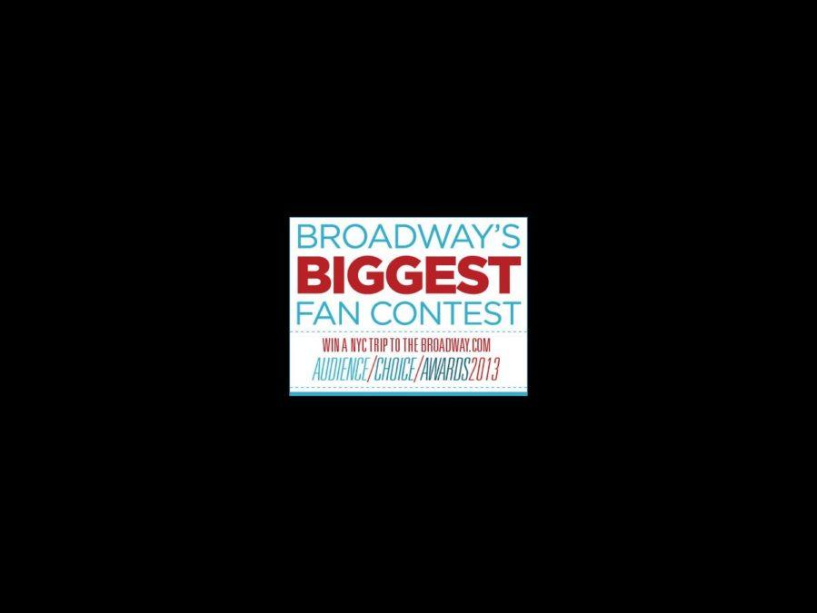 Broadway's Biggest Fan contest