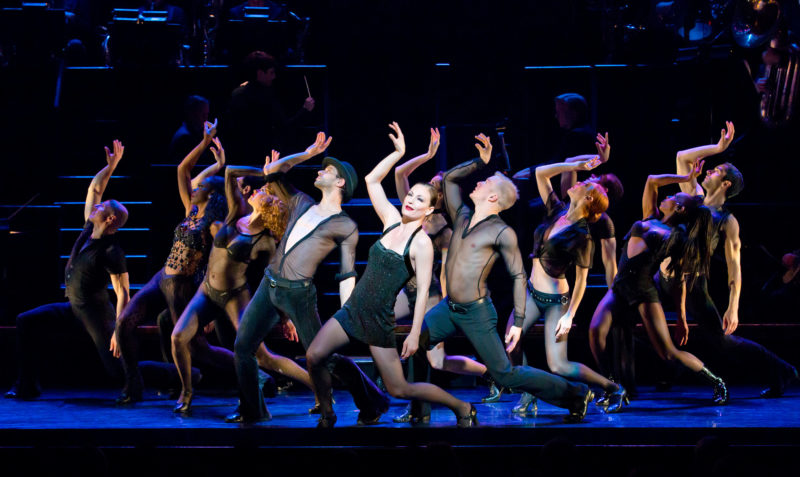 "The company of CHICAGO perform ""All That Jazz"""