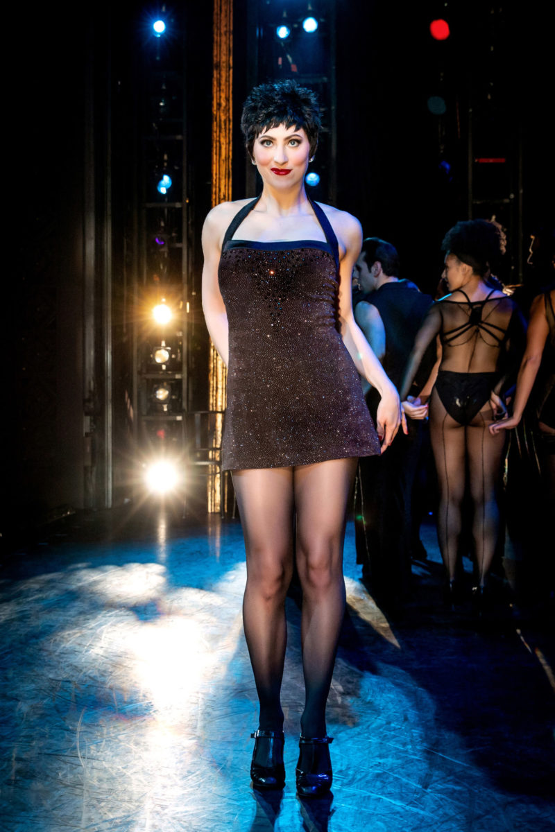 Velma Kelly from CHICAGO on stage