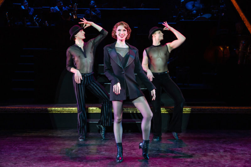 "Scene from CHICAGO Roxie Hart and Company performing ""Me and My Baby"""