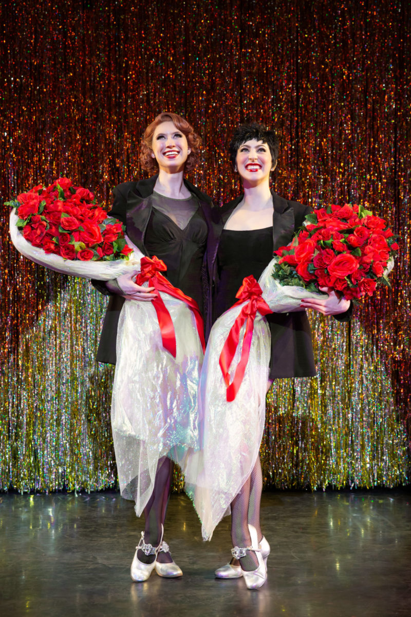 "Scene from CHICAGO Velma Kelly and Roxie Hart performing ""Nowadays/Hot Honey Rag"""